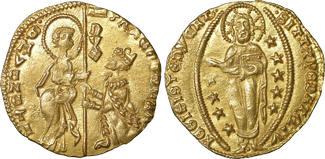 Venice  Venedig  Venezia Gold Zecchino AD 1423-145