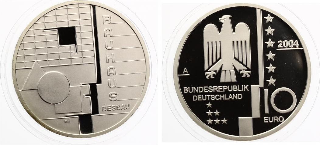 2004 10 Euro Bauhaus Pp Ma Shops