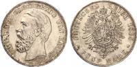 5 Mark Baden 1875 Friedrich I Jaeger 27  1875 vz