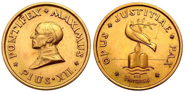 Goldmedaille 794 G 900er Oj Deutschland Medaille Von Heraeus Auf