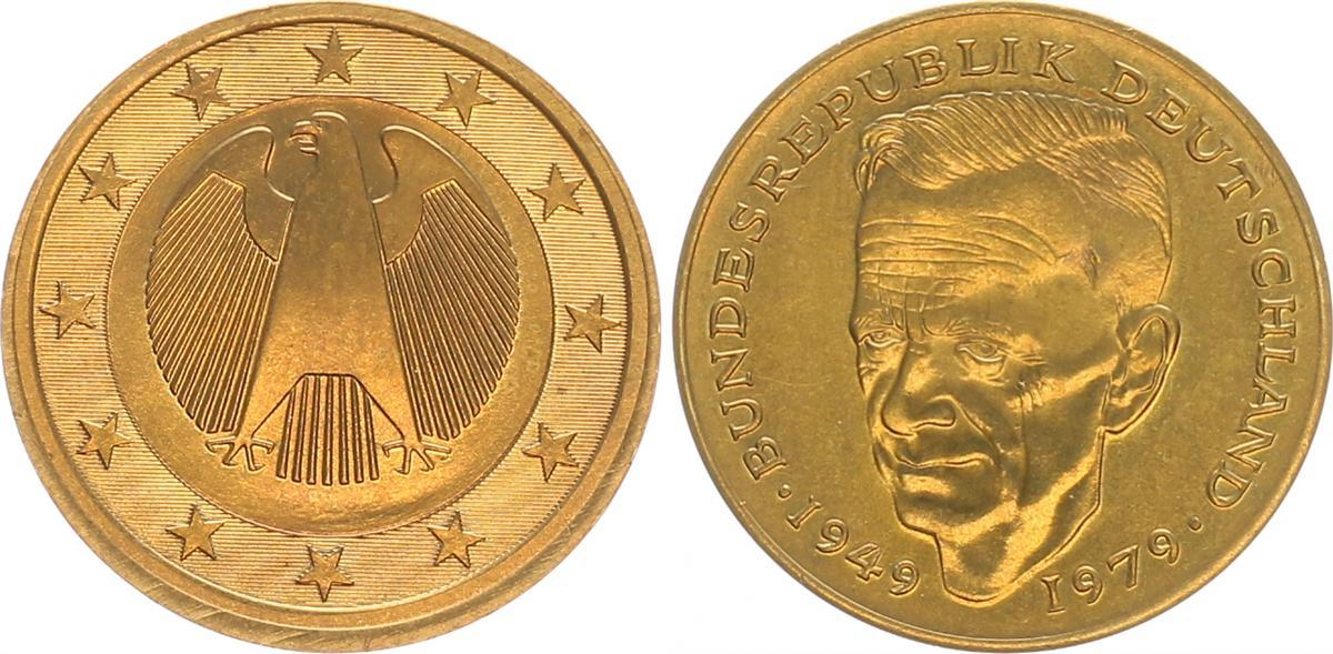 2 Euro Drehende Sterneschumacher 2001 Deutschland 2 Euro 2 Euro