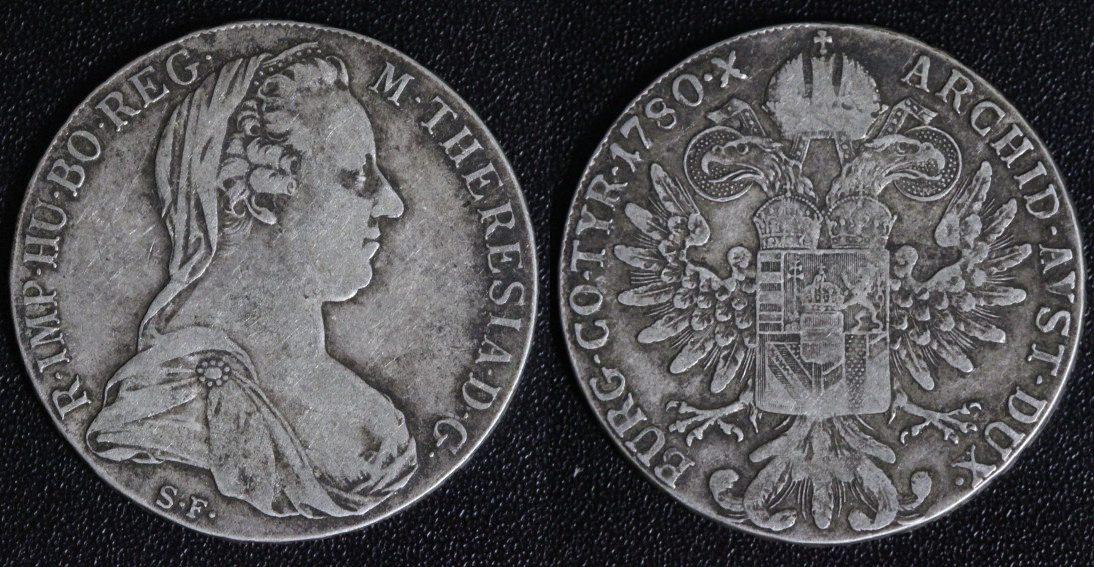Taler 1780 Sf österreich Habsburg Maria Theresia Maria