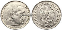 Drittes Reich 5 Reichsmark 1936 F Monnaies