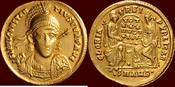Roman Empire AV Solidus (355-361) Wonderful coin w