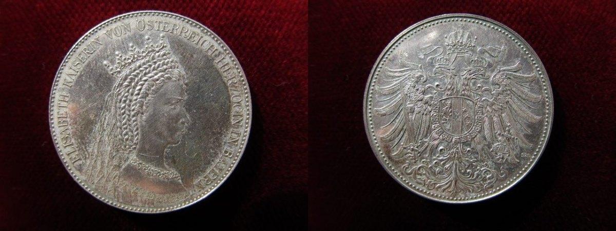 Medaille Oj Rdr österreich Habsburg Silbermedaille Elisabeth