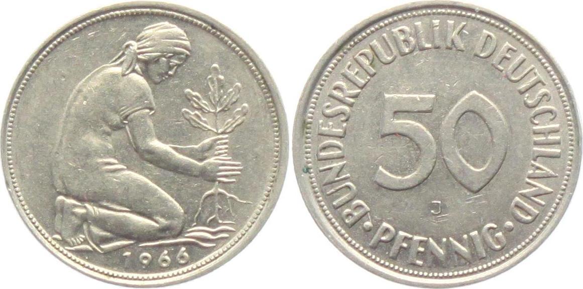 1969 bundesrepublik deutschland 50 pfennig coin