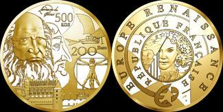 FRANKREICH 200 Euro 2019 polierte Platte ( PP ) 20