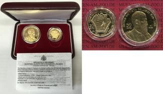 San Marino 20 und 50 Euro Gold 2006 Polierte Platt