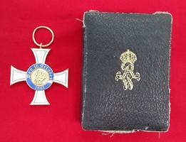 Preußen Kreuz 1861 Mit Öse, leicht gebraucht; inkl