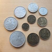 Litauen 1 Centai -10 Litai 1925 / 1936 Lot 10 Münz