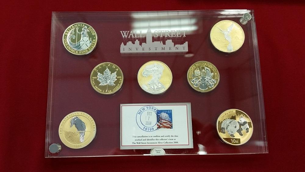 7 X 1 Unze Silber 2008 Usa Kanada China England Australien Etc