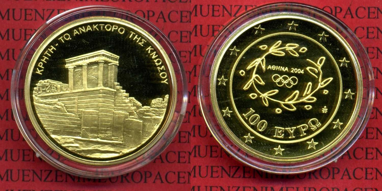 100 Euro Gold 2004 Griechenland Greece Griechenland Greece 100