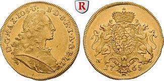 Bayern Dukat 1765 f.vz Herzogtum, Maximilian III.