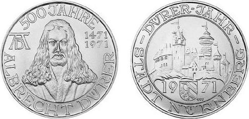 1971 500 Years Duerer 500 Jahre Albrecht Dürer 1471 1971 500