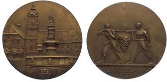 Tschechoslowakei Bronzemedaille  Vorzüglich