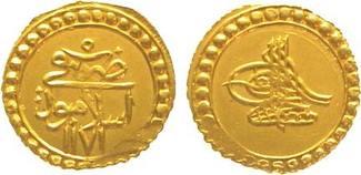 Türkei Findik Gold 1171 AH Vorzüglich Mustafa III.