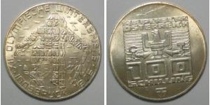 100 Schilling 1976 österreich Olympische Winterspiele 1976 Spl Ma