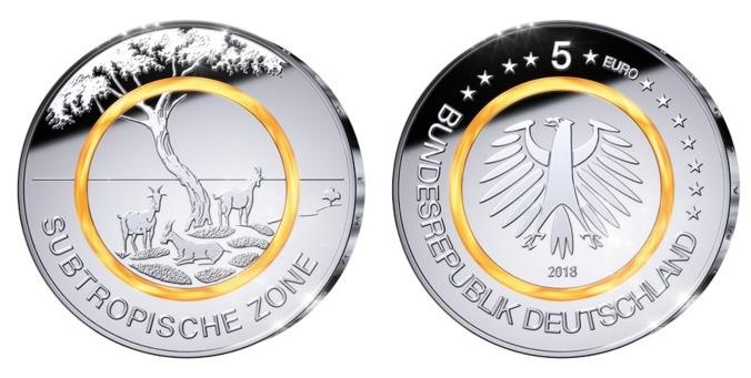 5 Euro 2018 F Deutschland Subtropische Zonebrb Prägestätte F