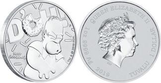 Tuvalu 1 Dollar <br><b>1 oz.</b> 2019 <b>stgl</b><