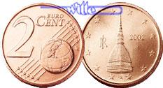 2 Cent 2002 Italien Kursmünze 2 Cent Fdc Ma Shops