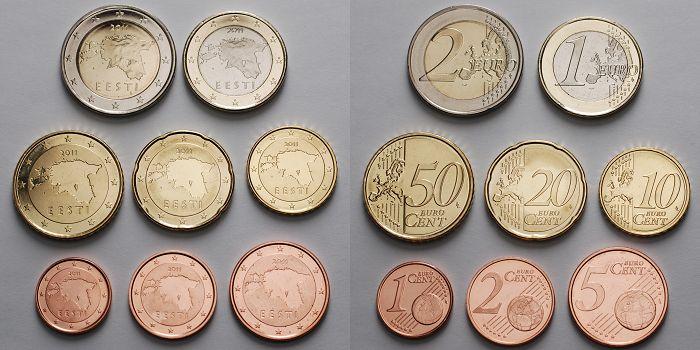 1 Cent 2 Euro 388 Mixsatz2011 Estland Preiswerte