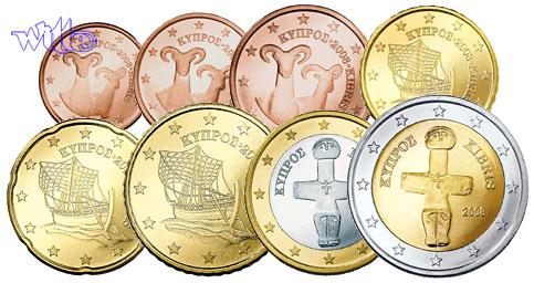 1 Cent 2 Euro 388 Mixsatz2008 Zypern Bpreiswerteb