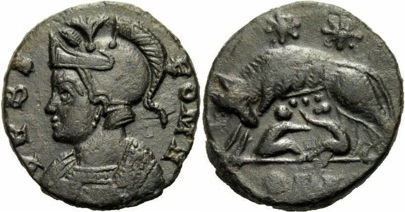 Follis 330 331 Rom Kaiserreich Nm Constantin I Follis Lyon 330 331
